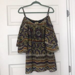 Show Me Your Mumu Aztec Mini Dress
